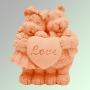 Мишки LOVE 3D LN №75