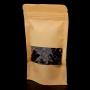Пакет Zip-lock Крафт с прямоугольным окном 9*14 см