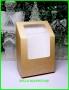 Коробка 130*90*50 подарочная с окошком 10 шт