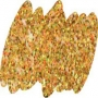 Глиттер золото голография 10 гр.