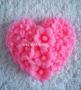 Сердце цветочный узор №134