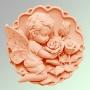Ангелочек с розами 2D №146