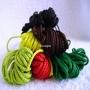 Шнур крупное плетение 4 мм цветной 5 м на выбор