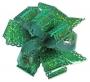 Бант-шар голография зеленый