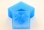 Силиконовый текстурный вкладыш Квадрат №8