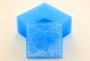 Силиконовый текстурный вкладыш Квадрат №4