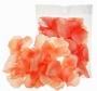 Лепестки роз текстиль Оранж