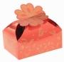 Коробка подарочная Цветочное настроение Красный