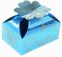 Коробка подарочная Цветочное настроение Голубой
