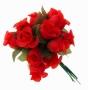 Декор для упаковки Бутон роз Красный (12 шт.)