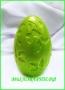 Силиконовая форма Яйцо весенний узор 3Д