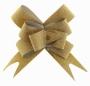 Бант бабочка Алмазная крошка Золото