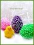 Силиконовая форма Яйцо цветочное 3Д