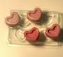 Пластиковая форма 4 сердечка МИ