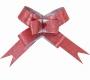 Бант-бабочка фактура изысканный бордо