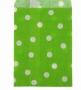 Пакет Зеленый крафт Горох КР 10 * 15 см
