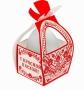 Коробка подарочная С красной Пасхой