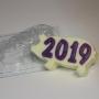 Пластиковая форма 2019 Силуэт свинки ФМ