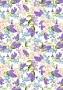 Листовая этикетка РЖ Цветы №11 на клейкой основе А4
