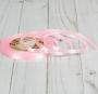 Лента атласная, 6мм, 23±1м, Розовый на выбор