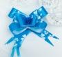 Бант-бабочка Лазурный праздник цветы( 10 шт.) (1,8)