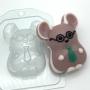 Пластиковая форма Деловой мышонок ФМ