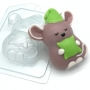 Пластиковая форма Мышонок соня ФМ