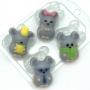 Пластиковая форма Мышки Мини ФМ