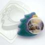 Пластиковая форма Елочка с шариком ФМ