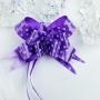 Бант-бабочка Горошек Фиолетовый (10 шт.)