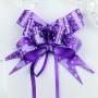 Бант-бабочка I love you Фиолет  (10 шт.)