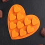 Набор силиконовая форма Сердечки ПС