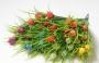 Зелень искусственная Букет крокусов (тейм)