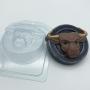 Пластиковая форма Бык в кольце ФМ