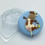 Пластиковая форма Коровка навеселе ФМ
