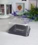Коробка пластик Квадрат дно Шоколад Д7,5 см