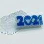 Пластиковая форма Бык и следы 2021 ФМ