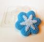 Пластиковая форма Вязаная снежинка HP