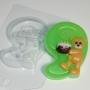 Пластиковая форма Цифры/9 с мишкой ФМ