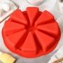 Силиконовая форма Кусочки торта 8 шт ПС