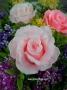 Силиконовая форма Серия Свадебная Роза №2